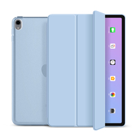 2020 nueva funda triple de microfibra para tableta para iPad Air4 10,9