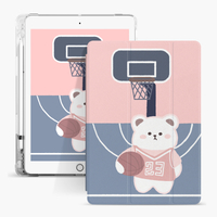 Air Sac Cartoon Kids Custom Printed Case para Apple iPad 9.7 5th 6th Generation Cover
